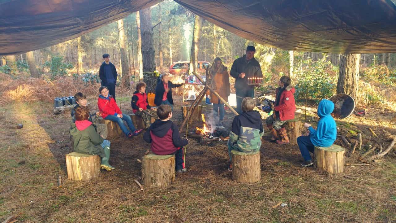 Bushcraft Birthday Party